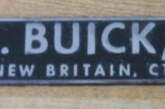 Vintage Buick Auto Dealership Emblems