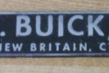 Vintage Buick Auto Dealership Emblems
