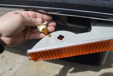 Changing Bumper Lights Bulbs (Turn Signals Running Park Lights Post 3 of 27)
