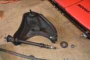 Replacing OEM Cross Shaft Bushings on Front Upper A Arm
