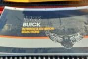 RARE 1985 Buick Dealership Showroom Marketing Display Signs