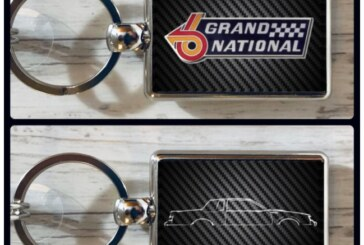 Buick GN Turbo 6 Inspired Key Chain Designs