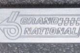 Buick Grand National Themed Billet Keychains