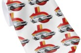 Buick Themed Tie and Tie Pins