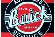Buick Themed Logo Beverage Drink Coasters
