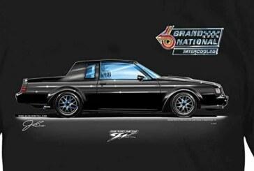 Black Buick GN Car Shirts