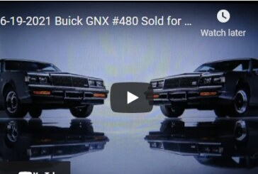WOW! NEW Buick GNX & Grand National Sales Records! (June 2021)