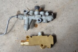 Replace OEM Proportioning Valve With 4-wheel Disc Prop Valve (From Inline Tube, Conversion Part 7)