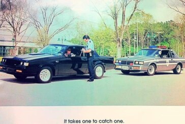 More Buick Grand National T Type Police Cars