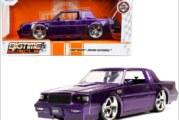 NEW Purple Jada 1:24 Big Time Muscle 1987 Buick Grand National Diecast Car