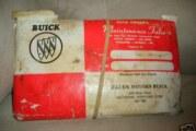 1986 Buick Regal New Car Maintenance Folio
