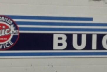 An Assortment of Buick Design Themed Banners