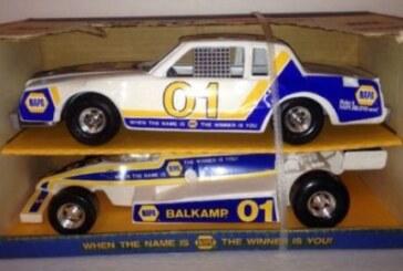 Vintage Ertl Napa Balkamp Nascar Buick Regal Race Car Set