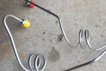 All New Brake Lines MC to Calipers From Inline Tube (Conversion Part 6)