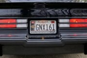 Cool Buick GNX Personal License Plates