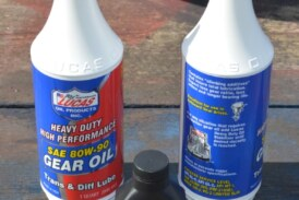 Change Rear End Differential Axle Fluid Gear Oil on Buick Grand National