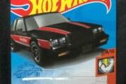 2021 Hot Wheels Black '87 Buick Regal GNX Kroger Exclusive