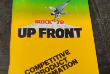 1979 Buick Up Front Dealership Salesman Brochure