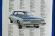 1978 1980 1981 Vintage Buick Car Advertisements