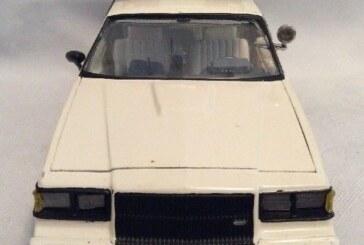 Buick Grand National Police Cars Model Kits