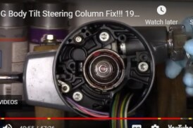 Does Your Tilt Steering Column Wobble in Your Buick Grand National? Here's The Fix!