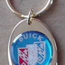 Buick Tri Shield Logo Key Chains Rings Fobs