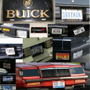 Custom Buick License Tags