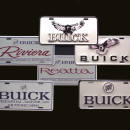 Buick Related License Plate Collection