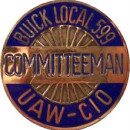 Buick UAW Pins & Badges